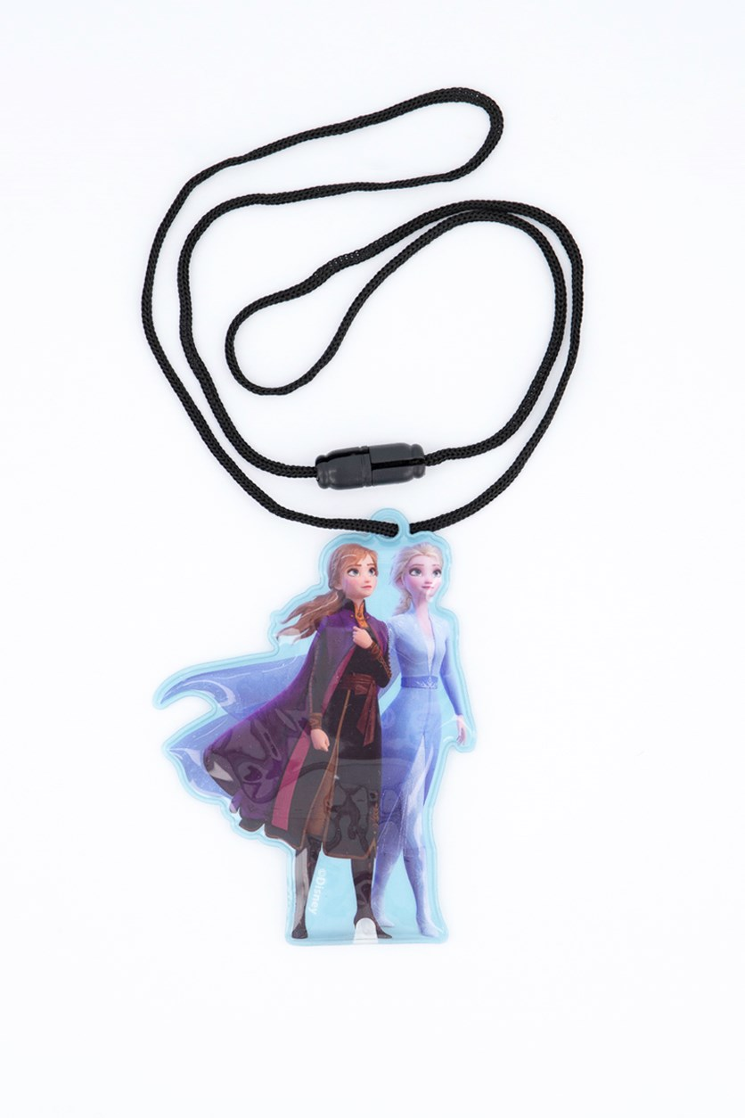 Frozen 2 Light-Up Lanyard, Blue/Purple