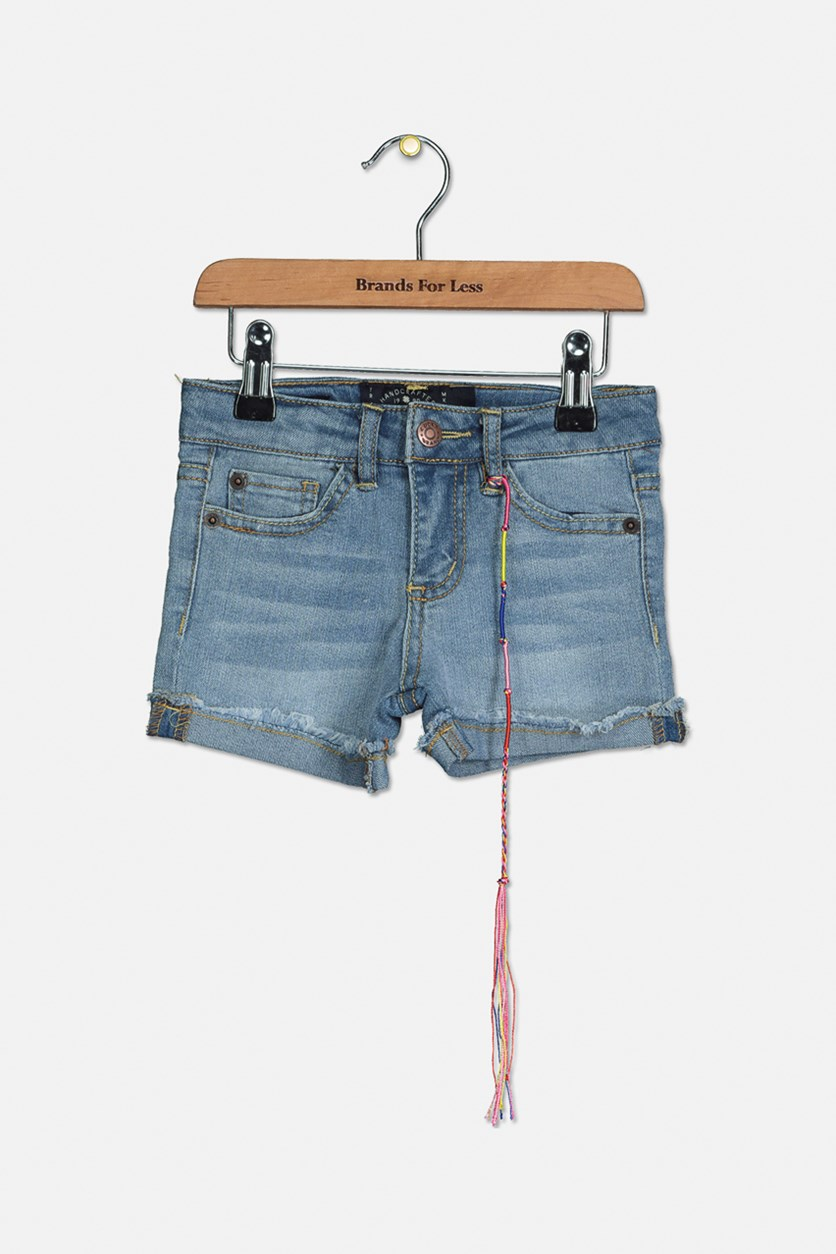 Toddler Girls Riley Denim Short, Christie Wash
