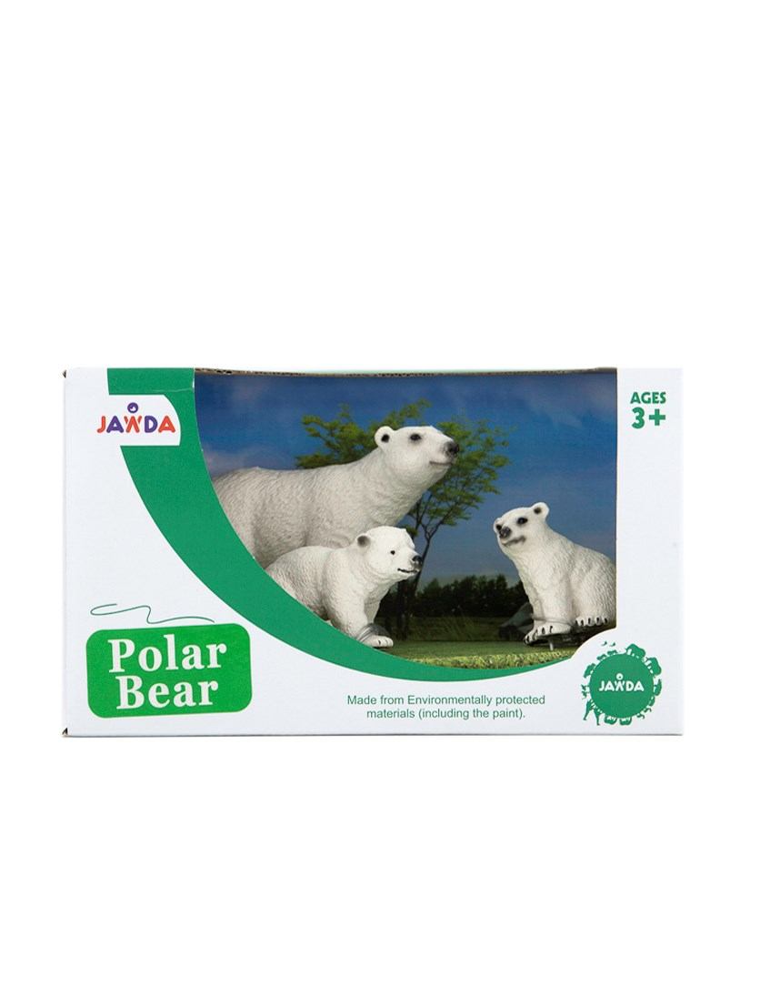 Animals Collections Polar Bear Set of 3, White