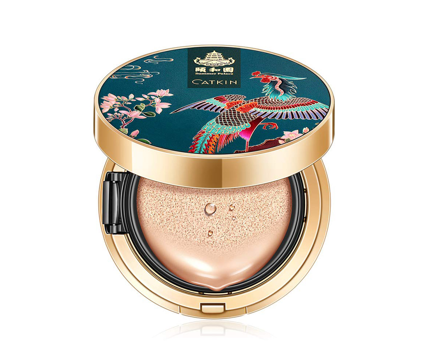 Catkin X Summer Palace BB Cushion, Natural