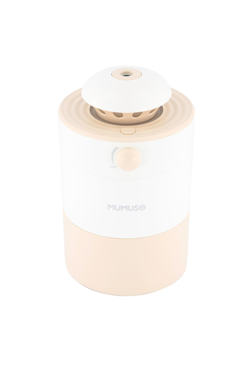 Humidifier With LED Light, Pale Pink