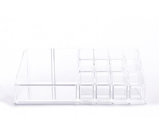 Multi-Functional Jewelry and Cosmetic Holder, Transparent