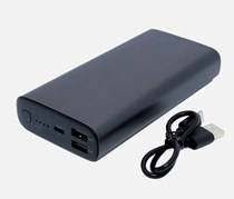 All Metal Power Bank, Black
