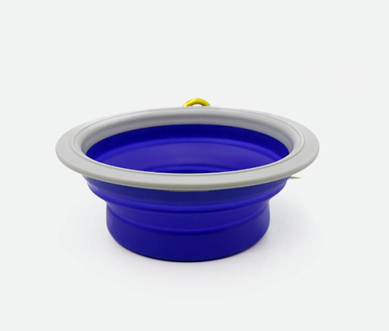 Foldable Bowl, Blue