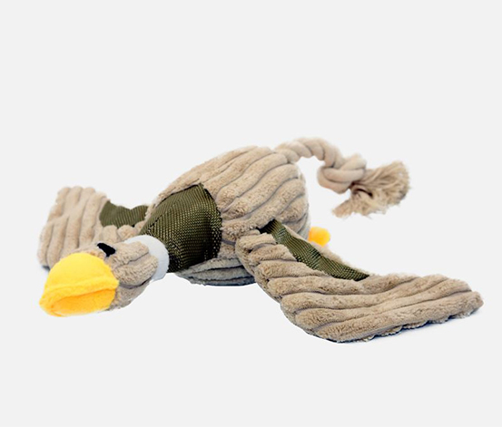Duck Plush Toy, Beige