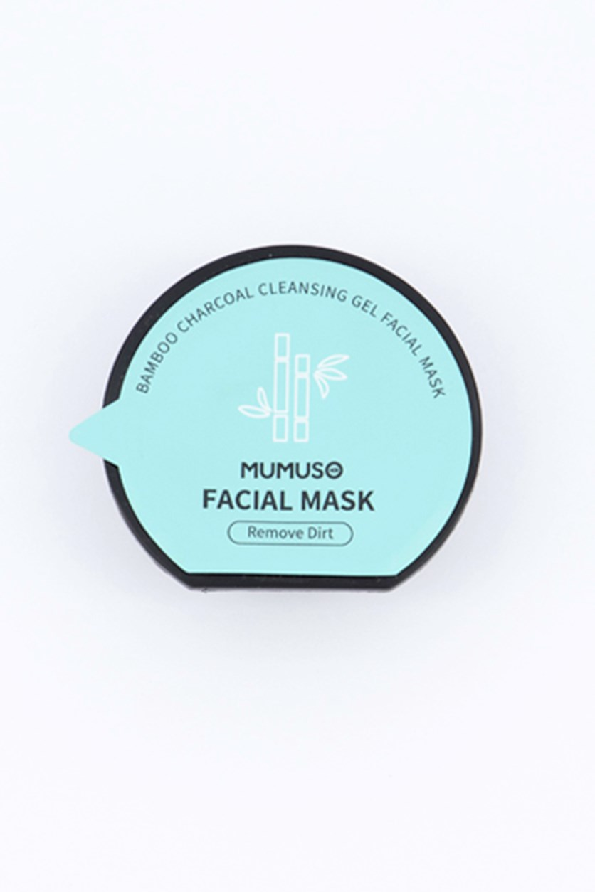 Bamboo Charcoal Cleansing Gel Facial Mask