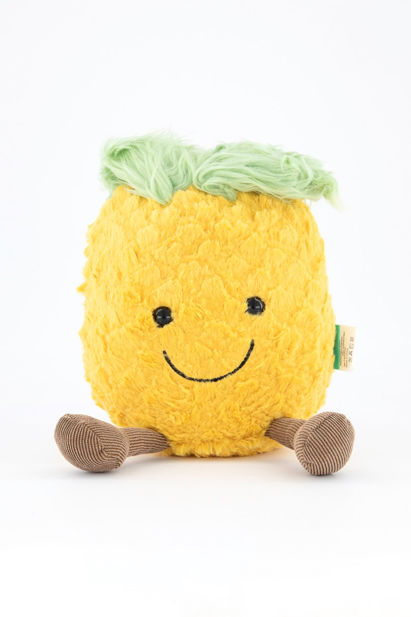 Pineapple Shaped Plush Toy, Yellow