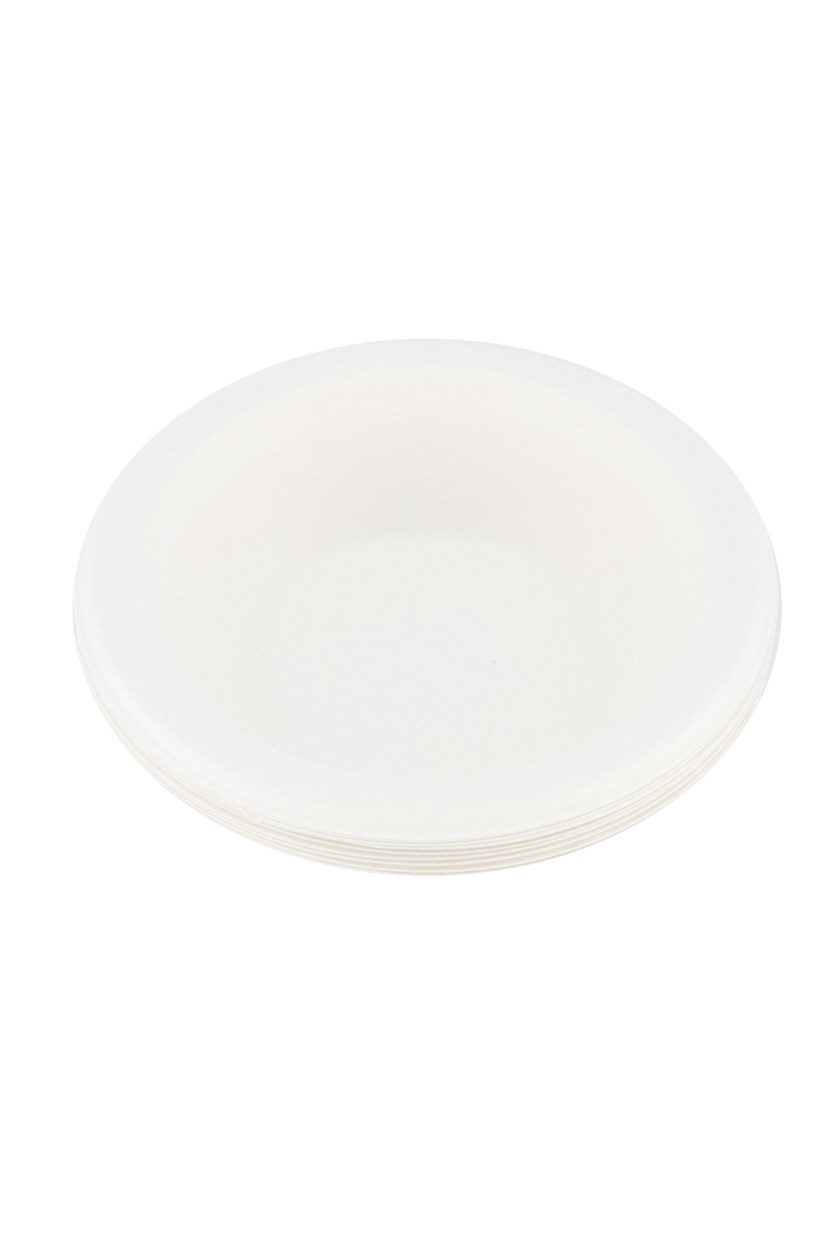 Disposable Bowl, Off White