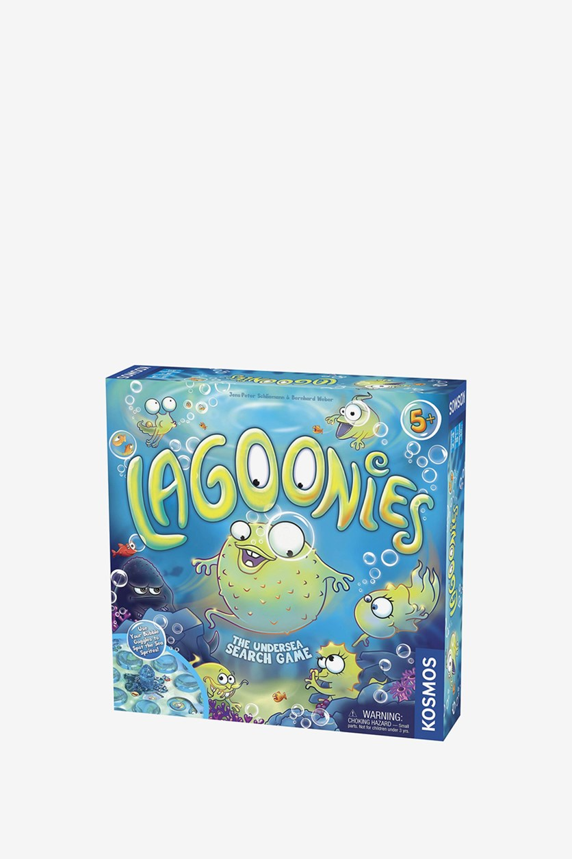 Lagoonies The Undersea Search Game, Blue Combo