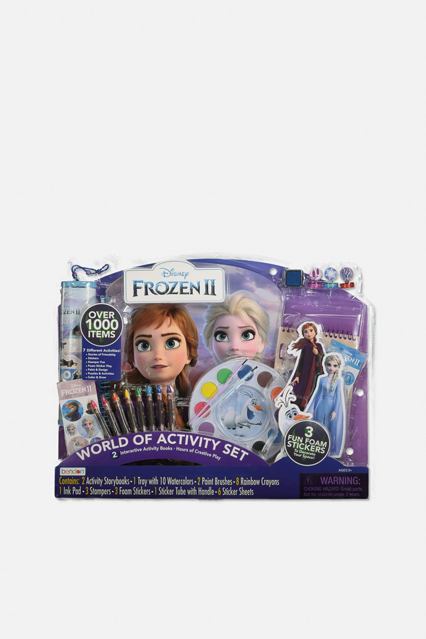 Disney Frozen 2 Giant Art & Activity Set, Purple Combo