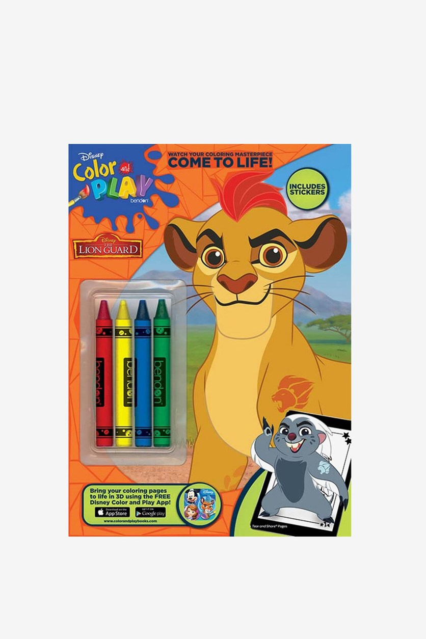 The Lion Guard Coloring & Activity Book, Brown