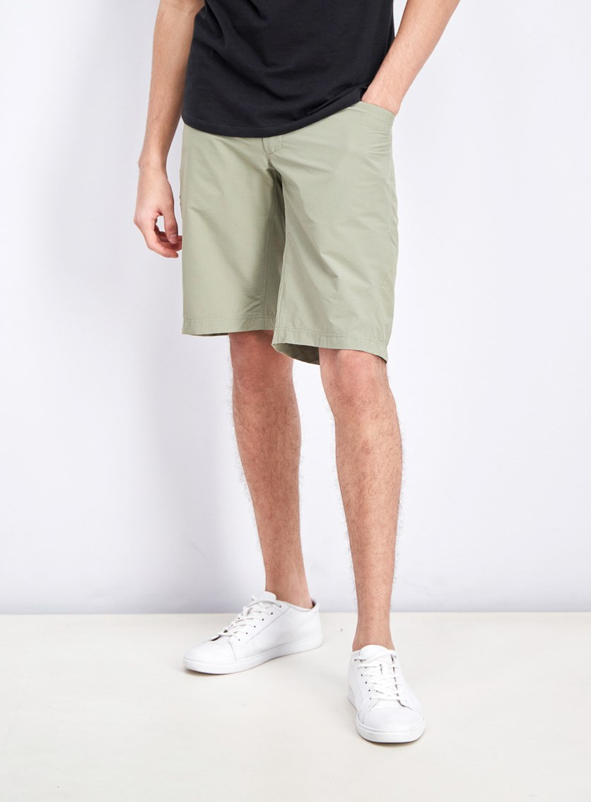Men's Straight Shorts, Olive