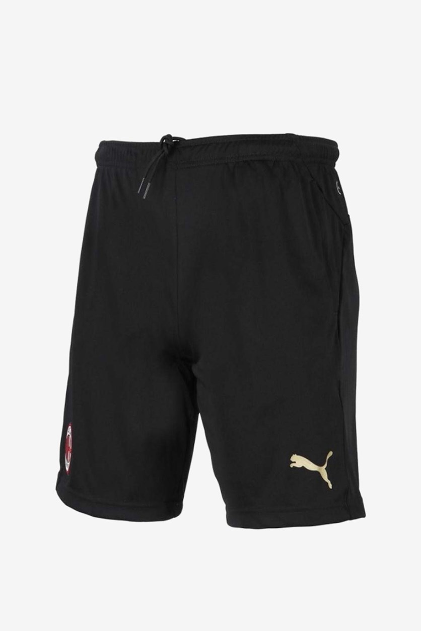 Boys Milan Training Shorts, Black/Gold