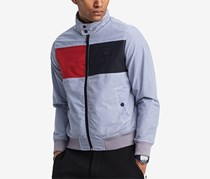 Men's Gleason Barracuda Colorblocked Jacket, Blue/Navy