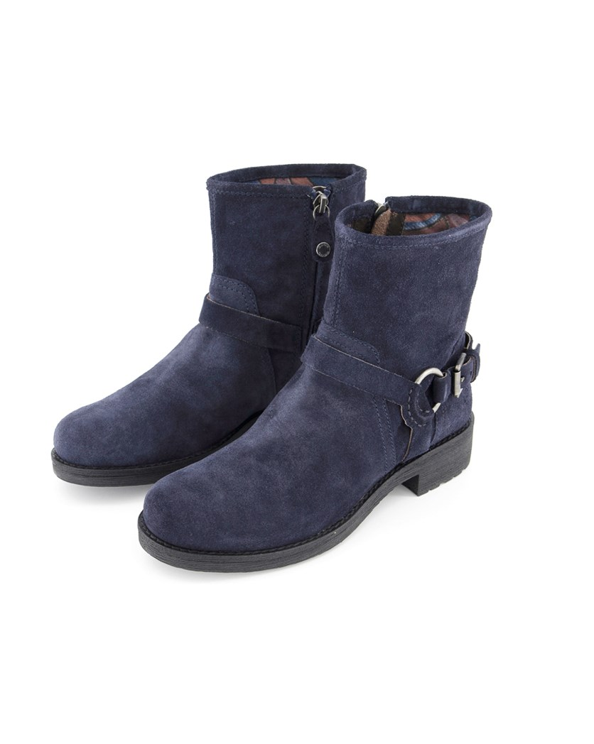 Women's Donna New Virna Boots, Navy