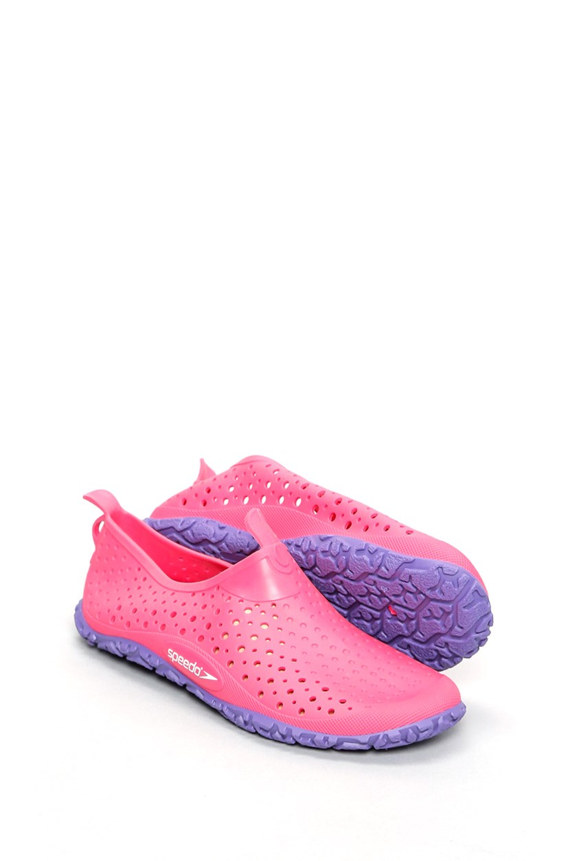 Kids Girls Jelly Shoes, Pink/Purple
