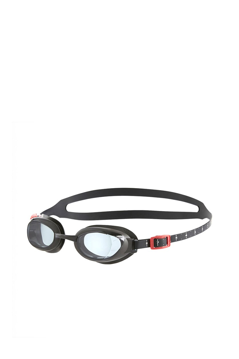 Mens Aquapure Optical Prescription Goggle, Black/Red