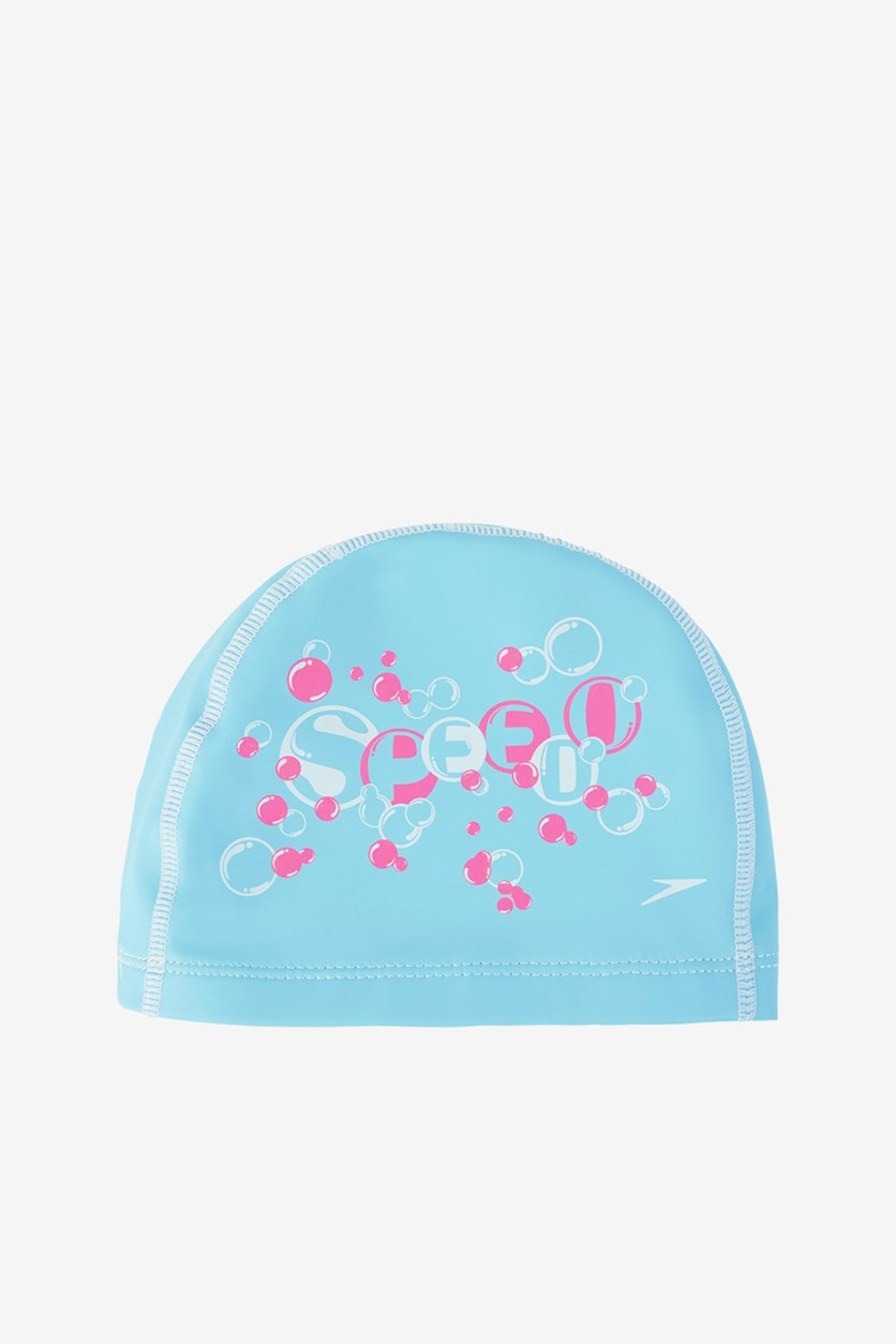 Junior Printed Pace Cap, Spearmint Blue