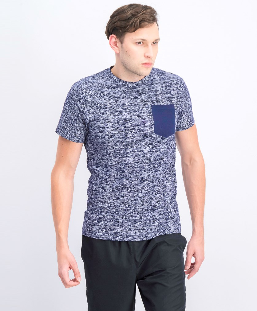 Men's Short Sleeve Pocket Shirt, Navy