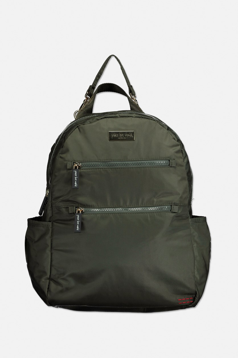 Women's Diaper Backpack, Army Green