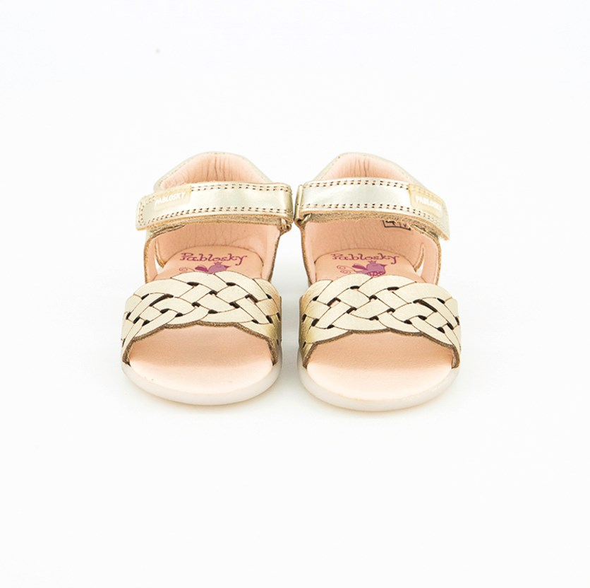 Toddler Girl's Recife Sandals, Gold