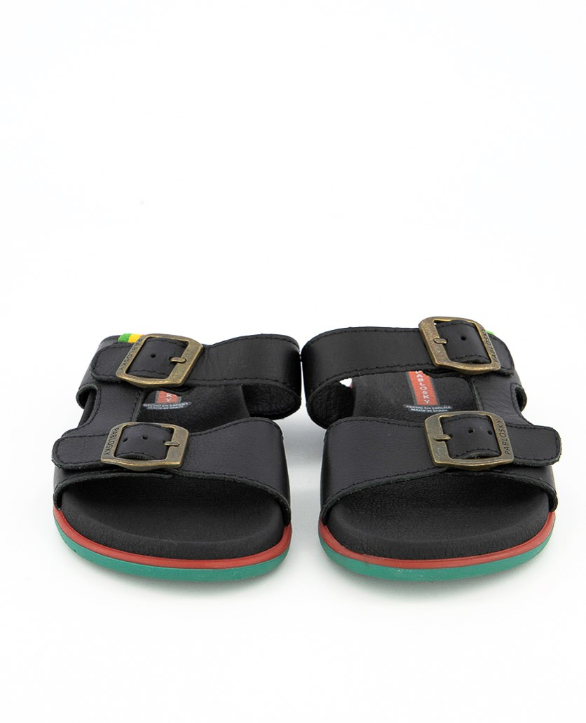 Kids Boy's Tomcat Negro Sandals, Black