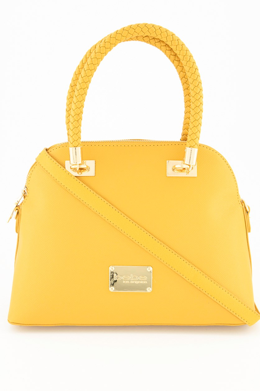 Women's Bella Dome Satchel, Mustard