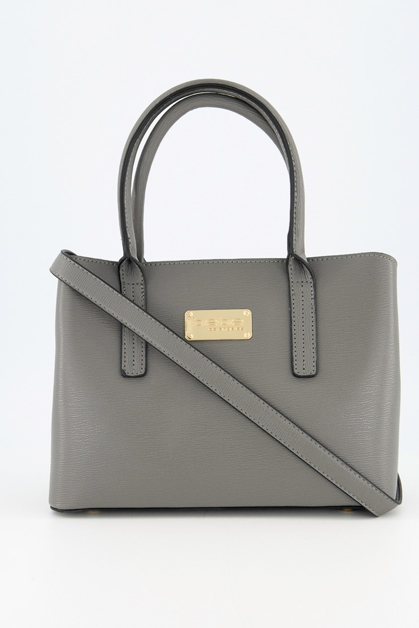 Women's Mini Aubrey Satchel Bag, Dark Grey