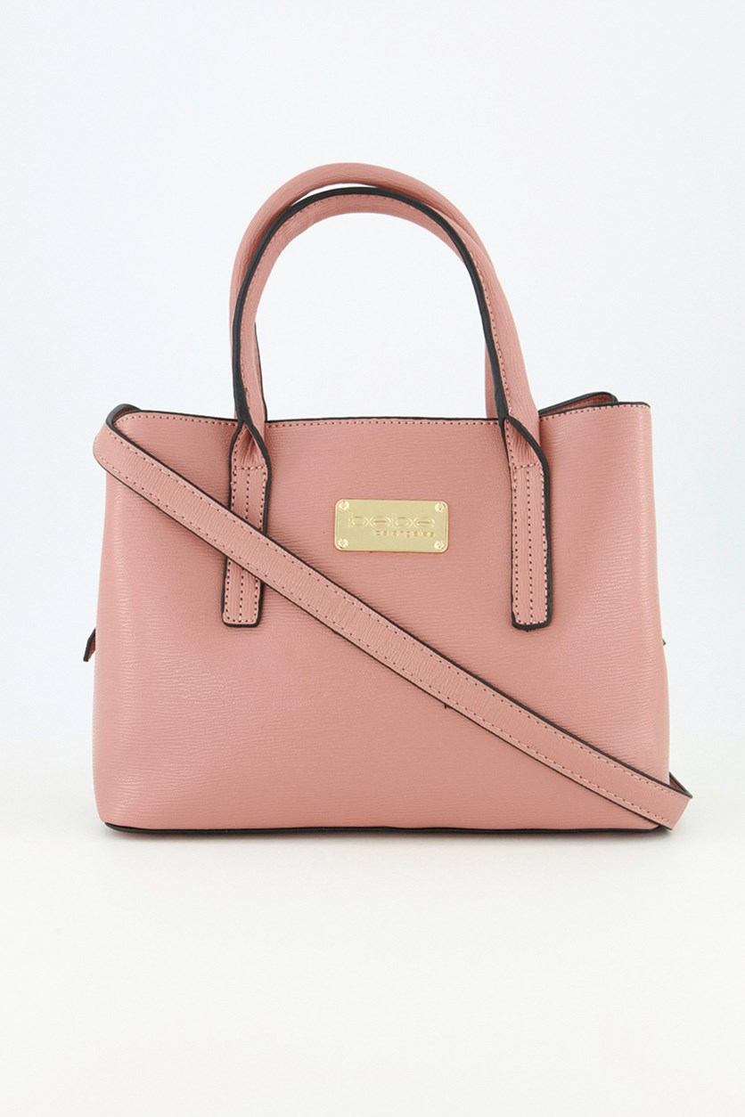 Women's Aubrey  Satchel, Dark Blush