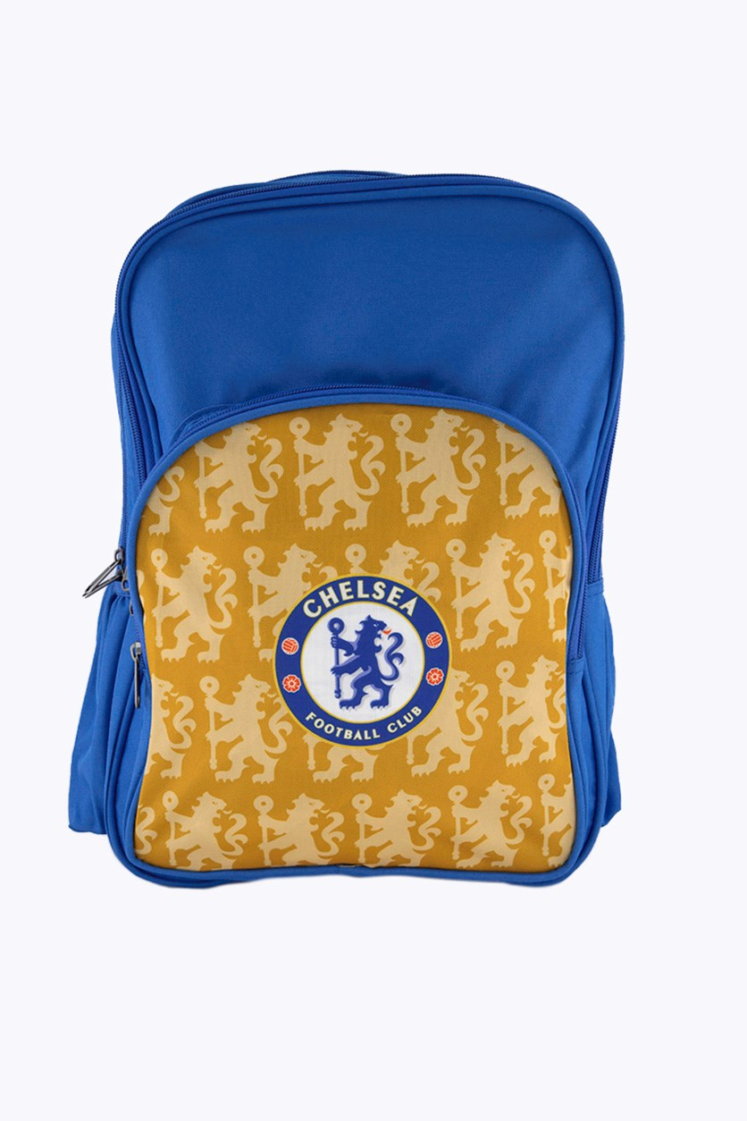 Multi-Compartment Backpack, Blue