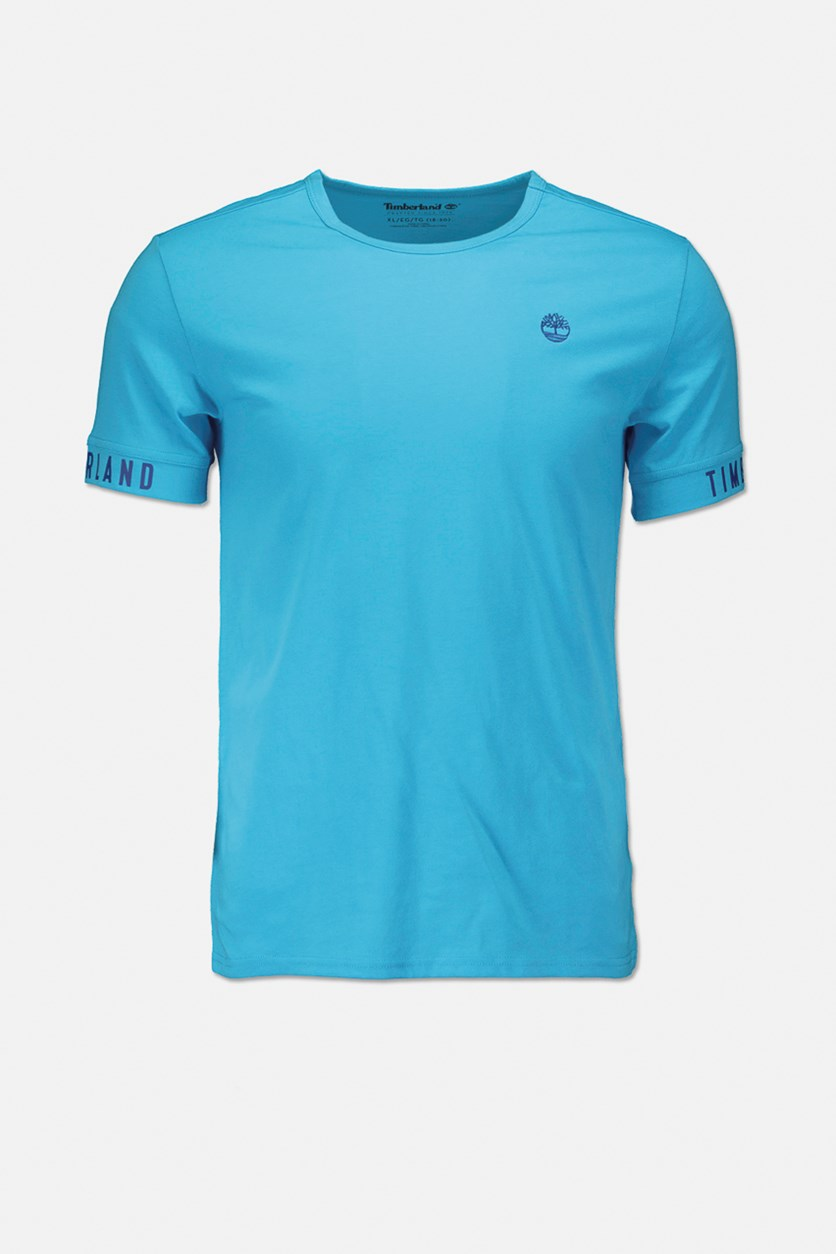 Big Boys Graphic Solid Tee, Blue Water