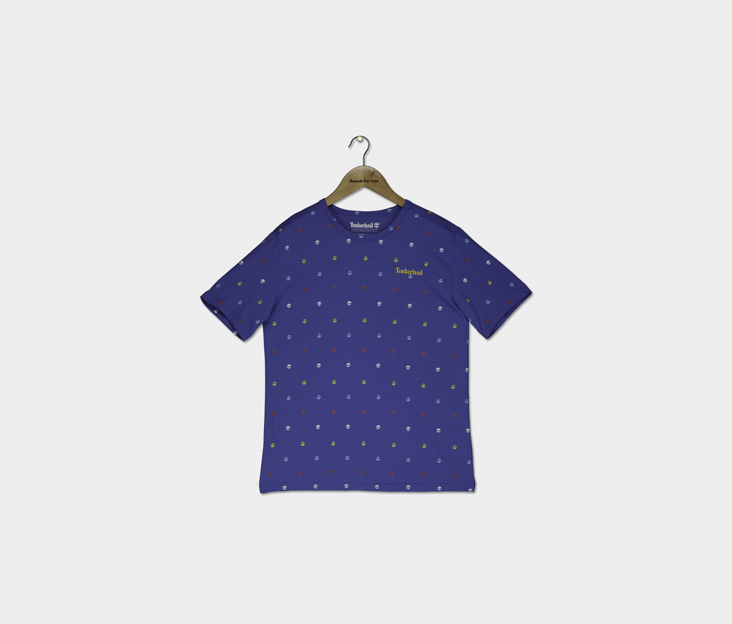 Boy's Graphic Shirt, Strong Blue