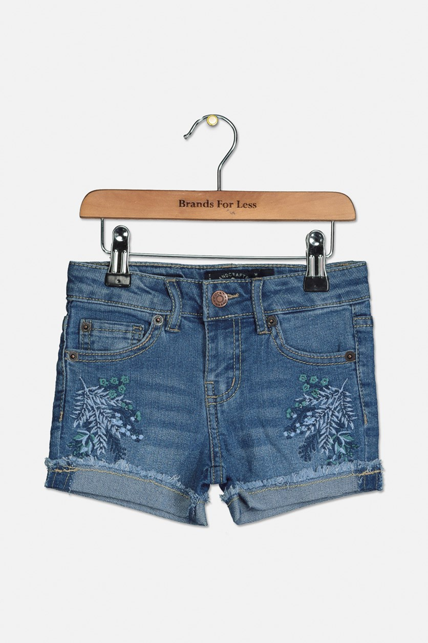 Girls Brandi Short, Ryder Wash