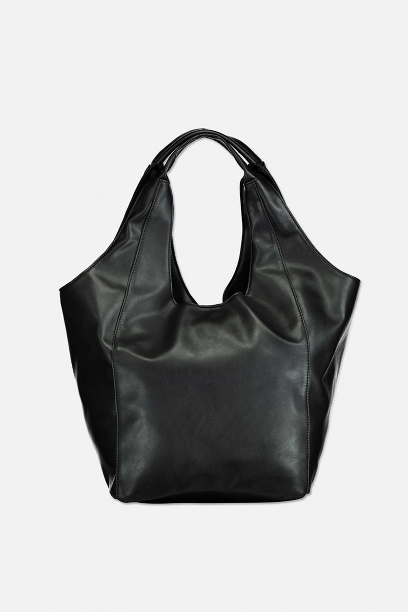 Women's Valentina Hobo Bag, Black