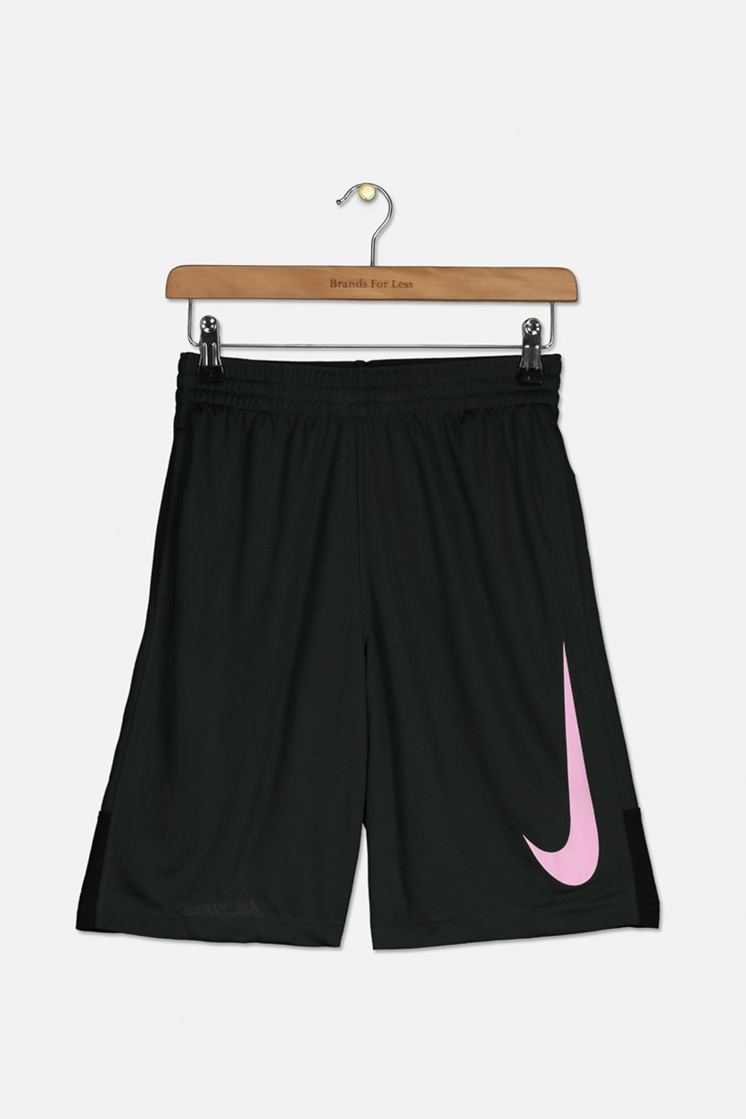 Boy's Nike Dry Shorts, Moss Green