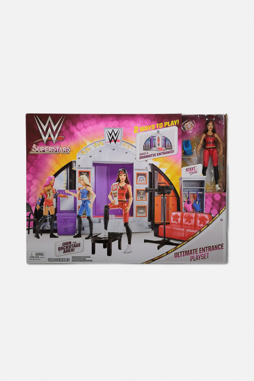 WWE  Superstars Ultimate Entrance Play Set, Grey/Red Combo