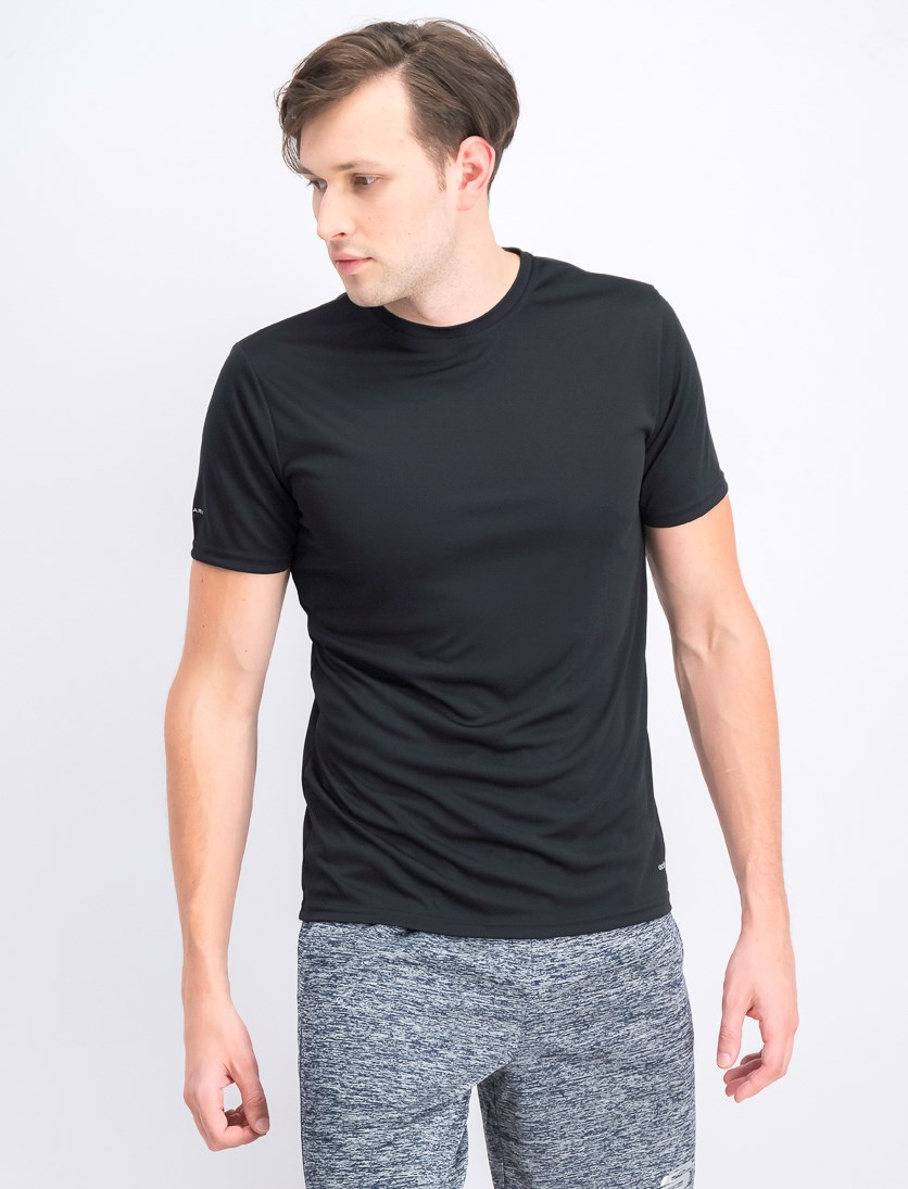 Men's Activecool Crew Neck T- Shirt, Black