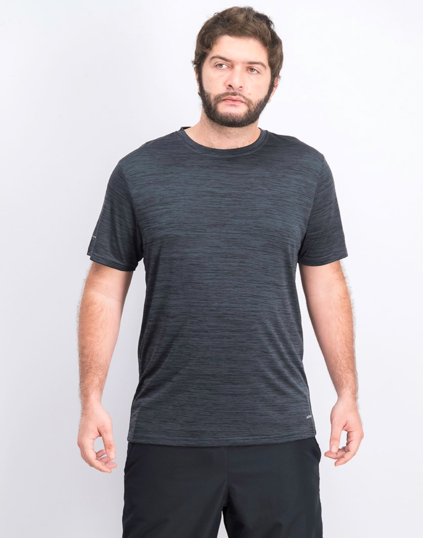 Men's Activecool Shirt, Melange Grey/Black