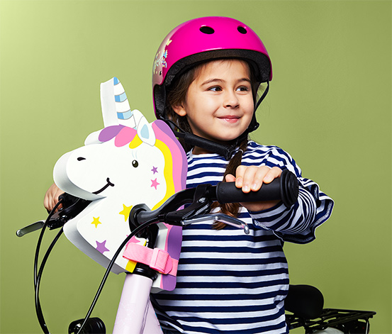 Girl's Bicycle Helmet, Pink