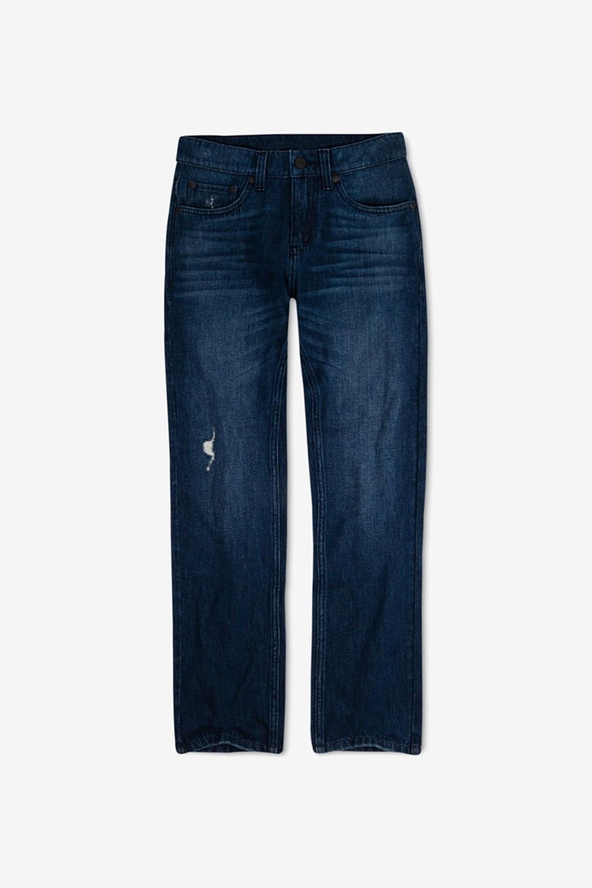 Boy's 511 Slim-Fit Warp Stretch Jeans, Navy Blue