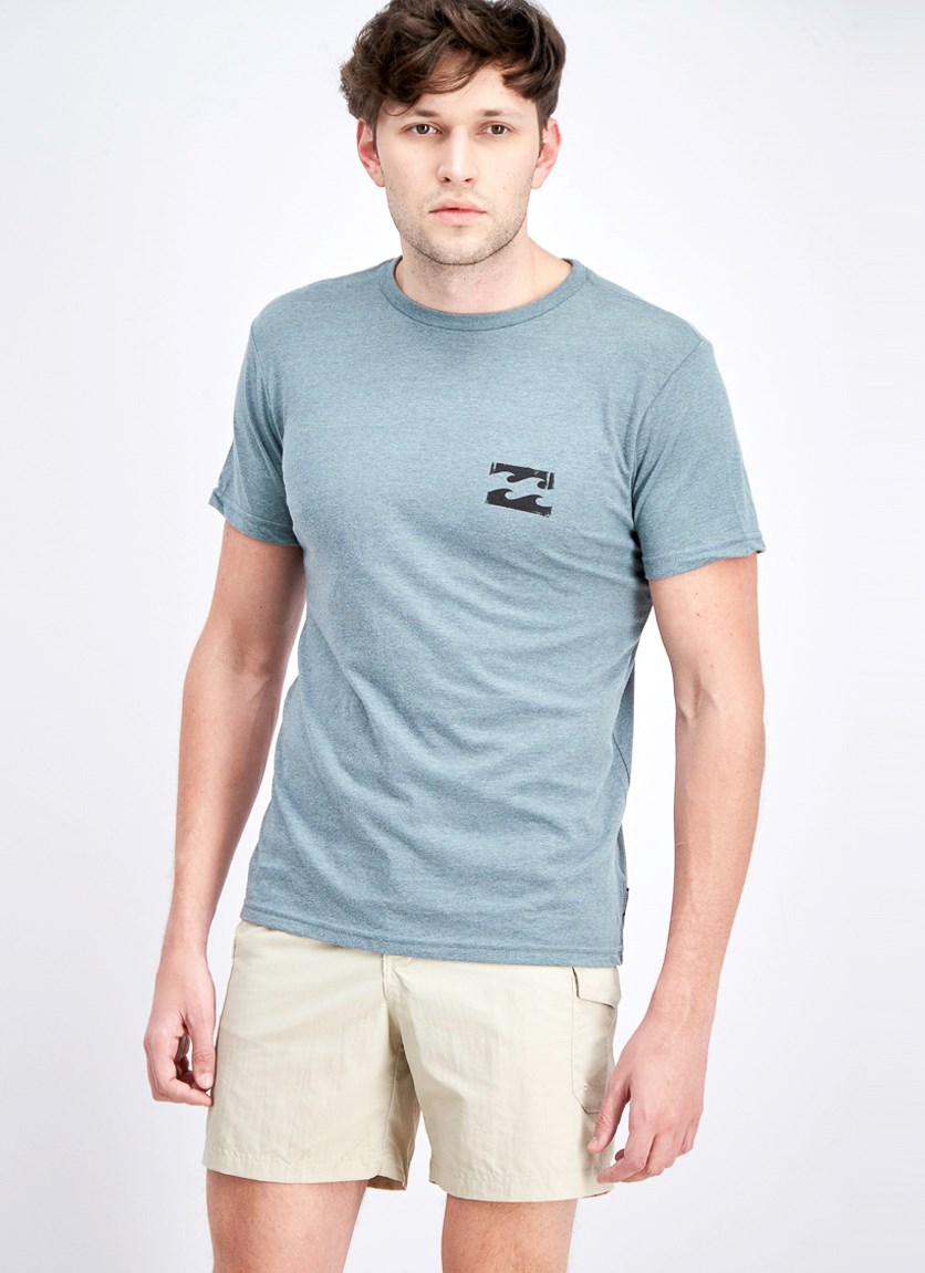 Men's Static Wave T-Shirt, Haze Heather