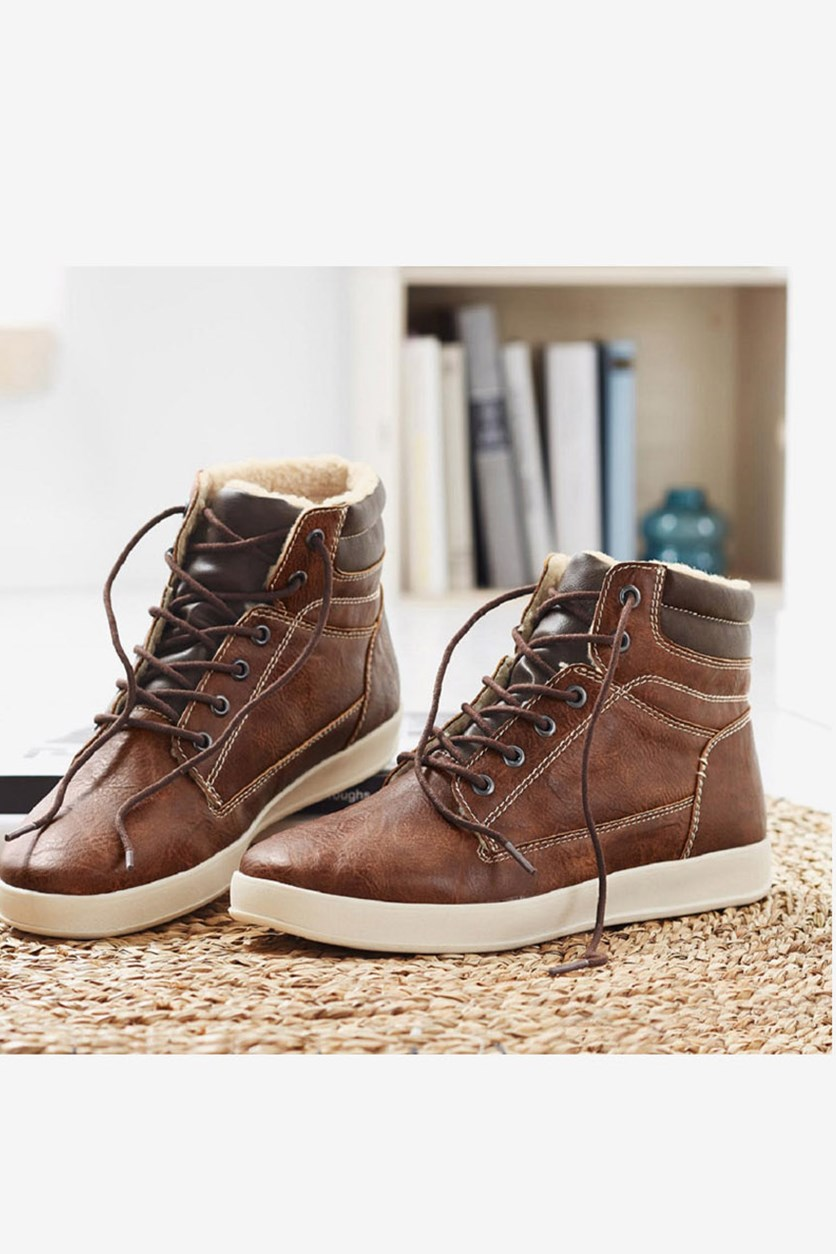 Men's Boots, Brown