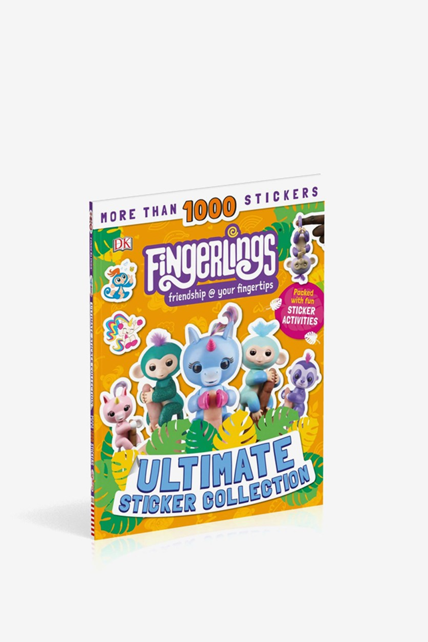Fingerlings Ultimate Sticker Collection, Yellow Combo