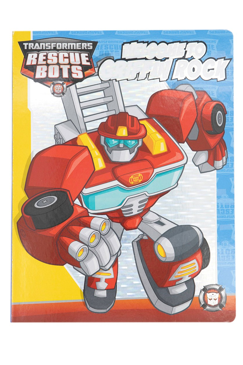 Transformers Rescue Bots Board Book, Red Combo