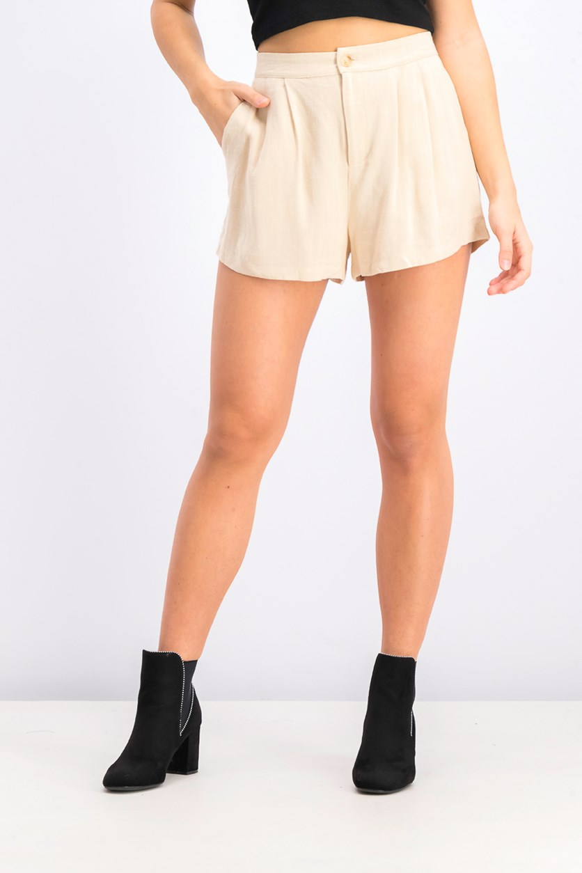 Women's Basic Short, Beige
