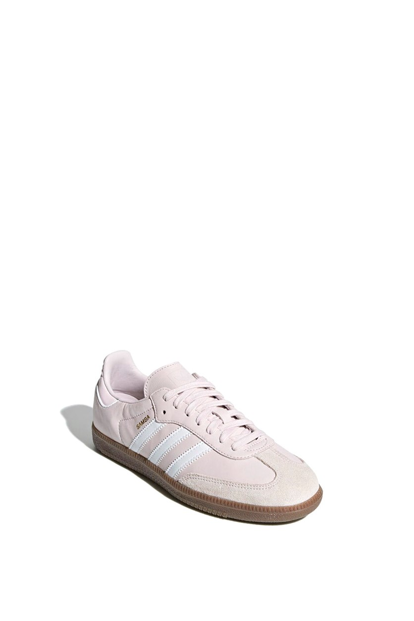 Women's Samba Og W Casual Shoes, Pink/White