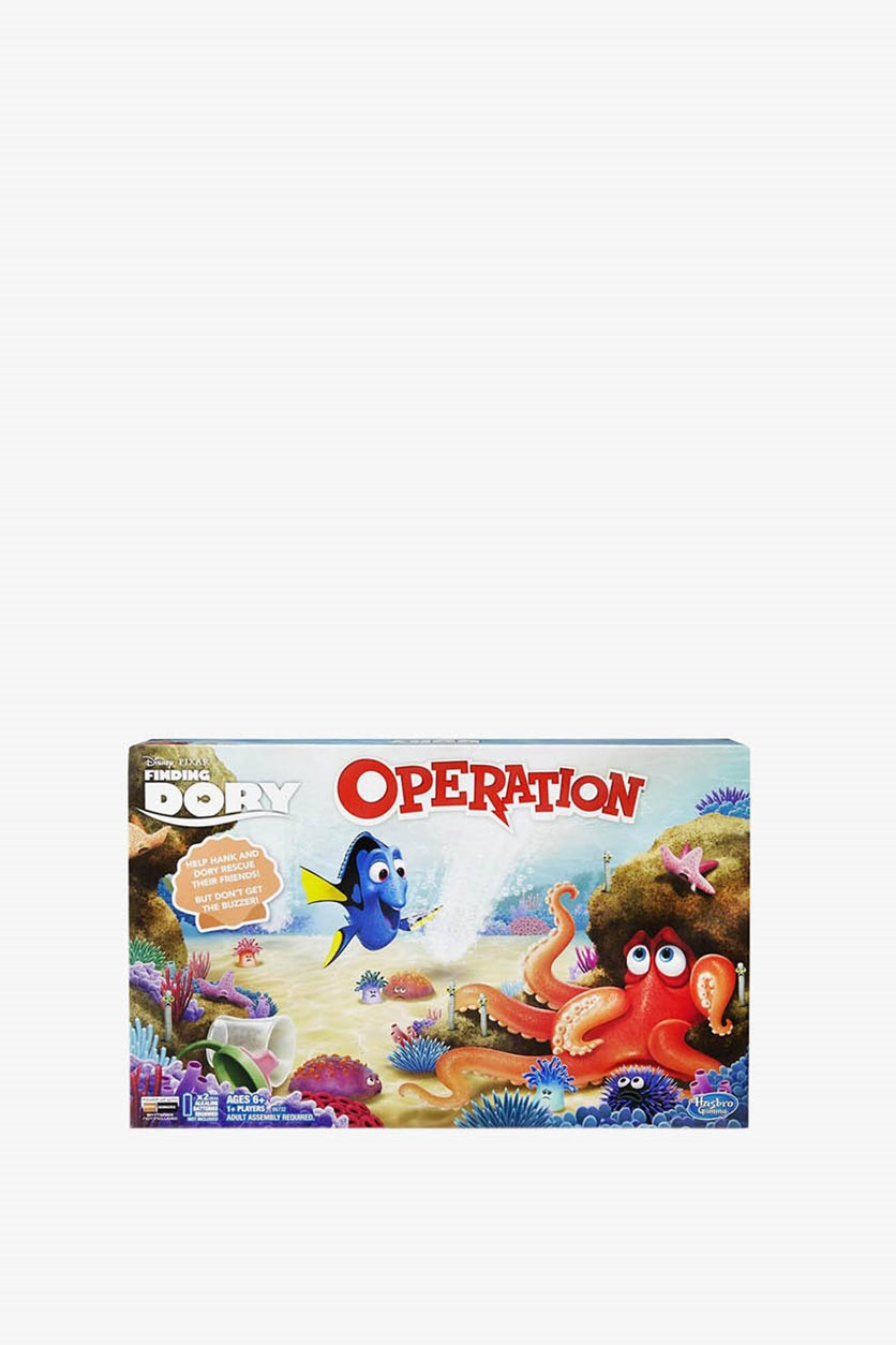 Kids Operation Game Board, Blue Combo