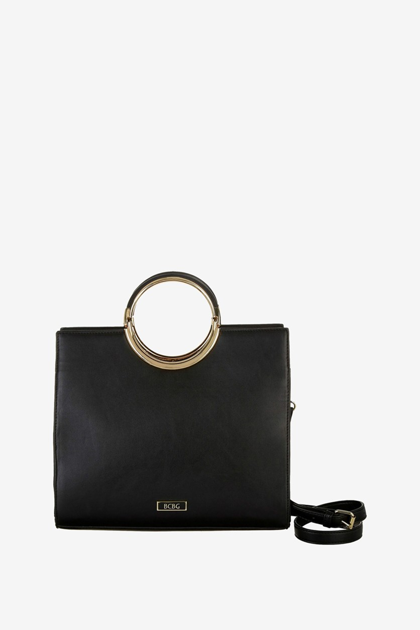 Womens Maddie Satchel, Black