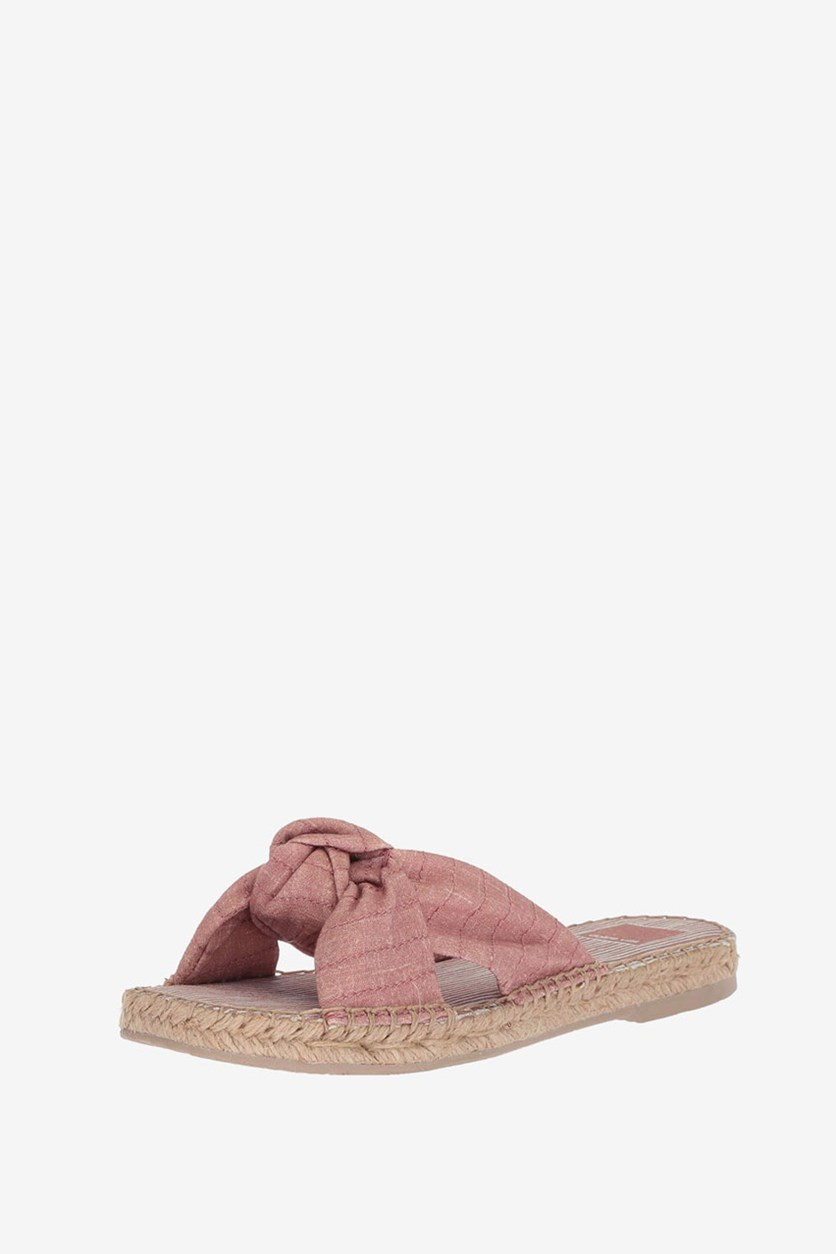 Women Benicia Slide Sandals, Blush Line