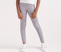 Girl's NMD All Over Print Leggings, Gray